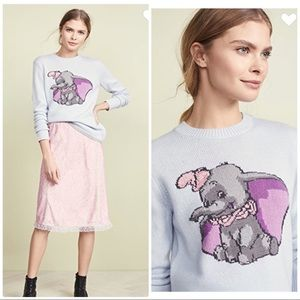 Disney X Coach Dumbo Intarsia Sweater Size Small